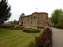 Château de Colchester, Colchester, Angleterre Photographie stock
