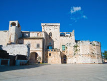 Château de Conversano. Apulia. Image libre de droits