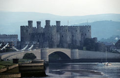 Château de Conwy Photos libres de droits