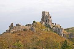 Château de Corfe Photographie stock