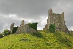 Château de Corfe, dans Swanage, Dorset, Angleterre méridionale images stock