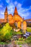 Château de Corvin - Hunedoara, la Transylvanie, Roumanie photos libres de droits