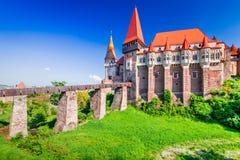 Château de Corvin, la Transylvanie - Roumanie photo libre de droits