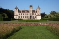 Château de coucher du soleil Image stock
