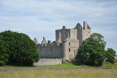 Château de Craigmillar, Edimbourg Ecosse photos libres de droits