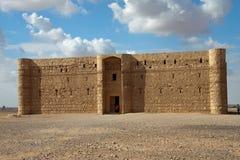 Château de désert de Kaharana en Jordanie Image stock