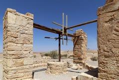 Château de désert de Quseir (Qasr) Amra près d'Amman, Jordanie Photo stock