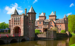 Château de De Haar Photos libres de droits