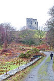 Château de Dolbadarn, LLanberis, Pays de Galles Image libre de droits