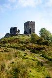 Château de Dolwyddelan dans Snowdonia, Pays de Galles, R-U Images stock