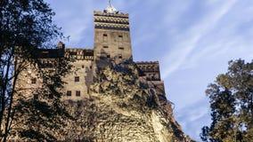 Château de Dracula, château de son Photographie stock libre de droits