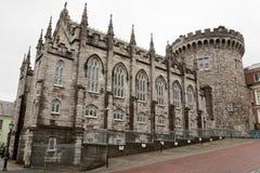 Château de Dublin. l'Irlande Photos libres de droits