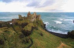 Château de Dunluce, Irlande du Nord Photos stock