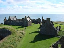 Château de Dunnottar, Ecosse Photo stock