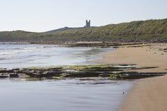Château de Dunstanburgh northumberland photographie stock