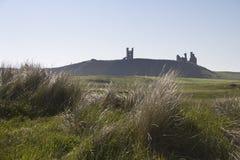 Château de Dunstanburgh northumberland photos libres de droits