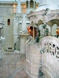 Château de fée de l'hiver Photos stock