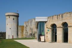 Château de Falaise dans Normandie images libres de droits