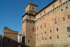 Château de Ferrare Photographie stock libre de droits