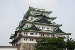 Château de force de Nagoya Photo stock