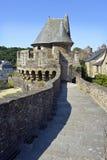 Château de Fougeres dans les Frances Photo libre de droits