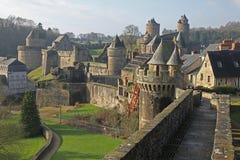Château de Fourges Photographie stock libre de droits