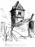 Château de Frankenstain Illustration Stock