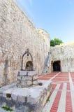 Château de Frankopan, Krk, Croatie Images libres de droits