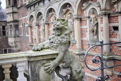 Château de Frederiksborg à Hillerod, Danemark Photographie stock