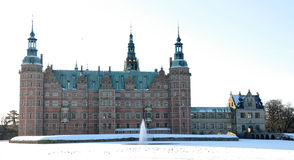Château de Frederiksborg, Danemark Photos stock