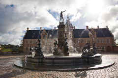 Château de Frederiksborg, Danemark Image stock