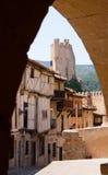 Château de Frias (12ème-15ème siècle) Images stock