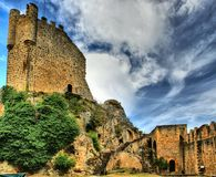 Château de Frias Photo libre de droits