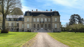 Chateau de Frouville Royalty Free Stock Images