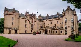 Château de Fyvie en Ecosse Photos stock
