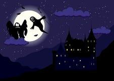 Château de Ghost Images libres de droits