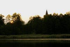 Château de Golczewo Photographie stock