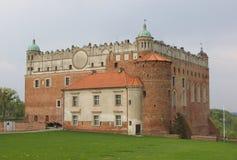 Château de Golub-Dobrzyn Photographie stock libre de droits