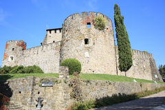 Château de Gorizia en Italie photo libre de droits