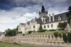 Château de Grafenegg dans le secteur de Krems de la Basse Autriche photographie stock libre de droits