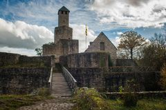 Château de Grimburg Photo libre de droits