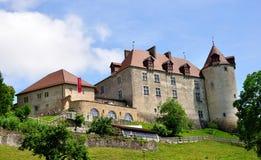 Château de Gruyeres, Suisse Image stock