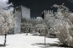 Château de Guimaraes photographie stock libre de droits