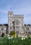 Château de Hatley, Colwood, Colombie-Britannique Photos stock