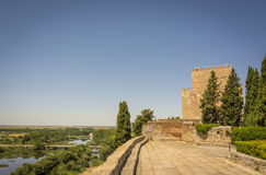 Château de Henry II de Castille en Ciudad Rodrigo, Espagne Photographie stock