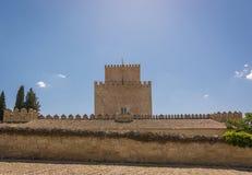 Château de Henry II de Castille en Ciudad Rodrigo, Espagne Image libre de droits