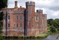 Château de Herstmonceux en Angleterre images libres de droits