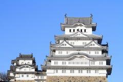 Château de Himeji à Himeji, Hyogo Photographie stock libre de droits
