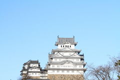 Château de Himeji à Himeji, Hyogo Photos stock