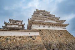 Château de Himeji au Japon, également appelé le château blanc de héron Photographie stock